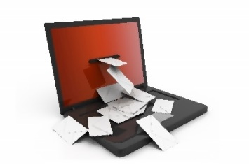 Email Computer + Envelop