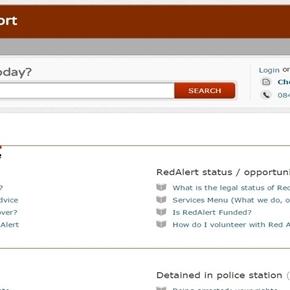 Red Alert HELP! Online Information Portal open24/7