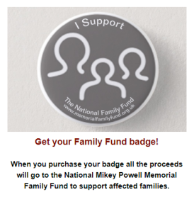 Family Fund badges